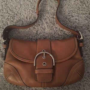 Brown Authentic Coach bag J3S-9247